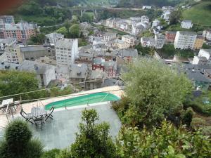 Vista de la piscina de Casona El Gurugu o alrededores