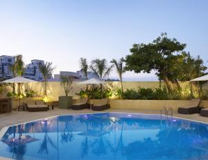 The swimming pool at or near Sheraton Casablanca Hotel & Towers