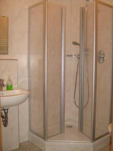 A bathroom at Hotel Kammerhof