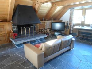 TV/Unterhaltungsangebot in der Unterkunft Chalet Atelier