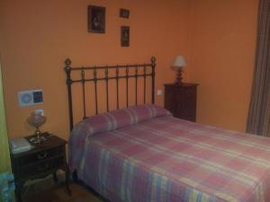Cama o camas de una habitación en Posada el Zaguan