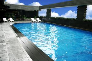 The swimming pool at or near Jianguo Hotel Guangzhou