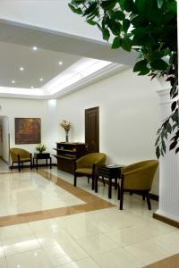 The lobby or reception area at Barakat Hotel Apartments