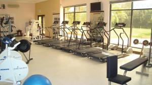 The fitness center and/or fitness facilities at Avari Tower Karachi