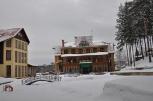 Mini-hotel Club Bon Ton during the winter