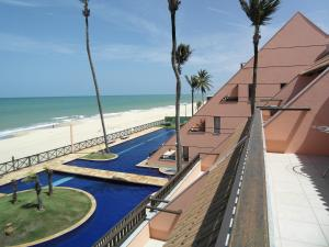 A view of the pool at Cumbuco Ocean View or nearby