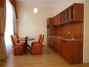 Küche/Küchenzeile in der Unterkunft City Apartment