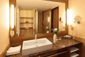 A bathroom at TUI BLUE Fleesensee