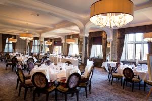 A restaurant or other place to eat at Bovey Castle