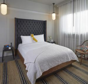 Säng eller sängar i ett rum på Hotel G San Francisco
