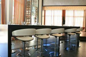 The lounge or bar area at Centro Yas Island-by Rotana
