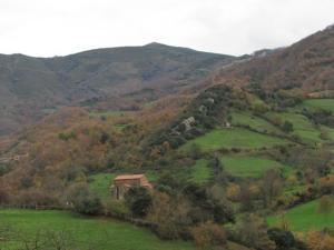 Hotel Ruta de la Plata de Asturias a vista de pájaro