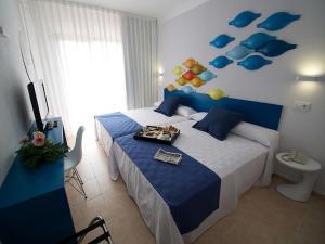 Cama o camas de una habitación en Evenia Olympic Resort