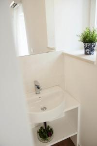 A bathroom at Casa l'Amuri
