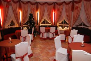 Banquet facilities at the guesthouse