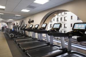 The fitness center and/or fitness facilities at Hilton Parc 55 San Francisco Union Square