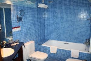 A bathroom at Hotel Casa Estampa