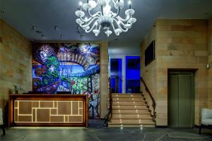 Лобби или стойка регистрации в Зеленоградск Спа Отель