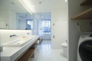 A bathroom at Aoi Hotel Kyoto