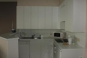 Küche/Küchenzeile in der Unterkunft Appartement aan Zeedijk Nieuwpoort