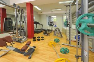 Фитнес-центр и/или тренажеры в Villa Four Rooms
