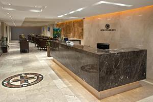The lobby or reception area at Hotel Punta del Este