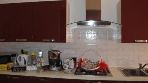 Cucina o angolo cottura di Bed and Breakfast A.l.g.a
