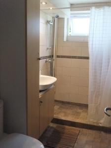 Et badeværelse på Acacia House B&B
