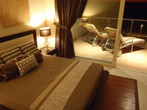 A bed or beds in a room at Terrazas de Jandía