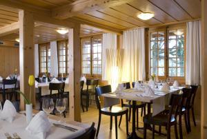 Ресторан / где поесть в Restaurant Hotel Rüttihubelbad