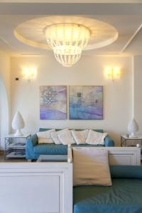 Area soggiorno di Hotel Mea - Aeolian Charme