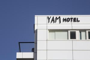De plattegrond van Yam Hotel - an Atlas Boutique Hotel