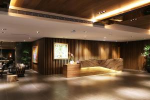 The lobby or reception area at Chiayi Maison de Chine Hotel