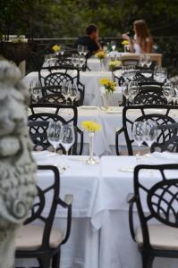 Villa Aristonにあるレストランまたは飲食店
