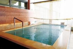 The swimming pool at or near Hotel Niseko Alpen