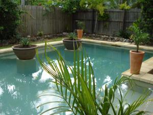 The swimming pool at or near Jambala Beach House