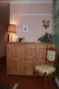 Lobby/Rezeption in der Unterkunft Gästehaus Stelle