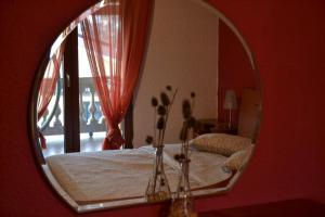 A bed or beds in a room at Apartment Peloža 1
