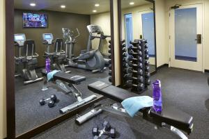 The fitness center and/or fitness facilities at Portofino Inn and Suites Anaheim Hotel