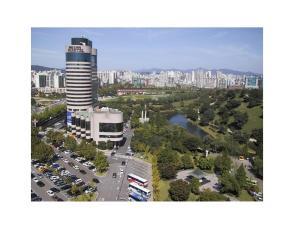 ソウル オリンピック パークテルの鳥瞰図