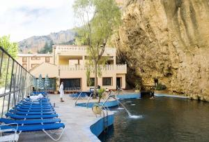 Piscina en o cerca de Hotel Balneario de La Virgen