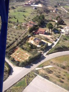 Vista aerea di Sicily Bike di Fina Rosario