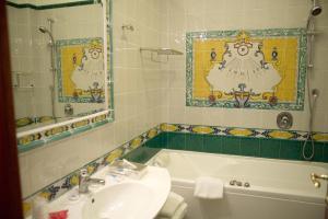 A bathroom at Hotel Cetus