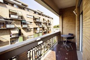 Balcon ou terrasse dans l'établissement Affittacamere Nansen