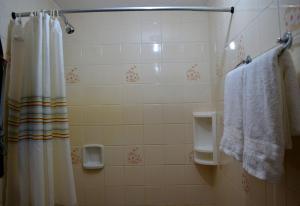 A bathroom at Pousada Em Busca do Sol