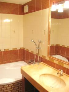 A bathroom at Hotel Astra