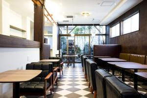 A restaurant or other place to eat at Cafe & Guest House Nagonoya