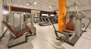 The fitness center and/or fitness facilities at Best Western Plus Hotel Galileo Padova
