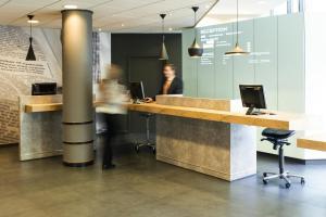 El vestíbulo o zona de recepción de ibis Gent Centrum St. Baafs Kathedraal