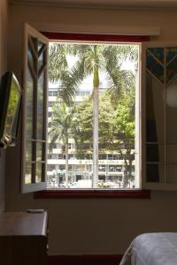A general view from the hostel